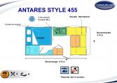 2020 Caravelair Antares Style 455 caravan indeling