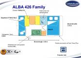 2020 Caravelair Alba 426 indeling