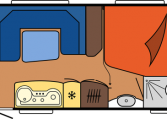2020 Hobby de Luxe Edition 560 KMFe dagindeling