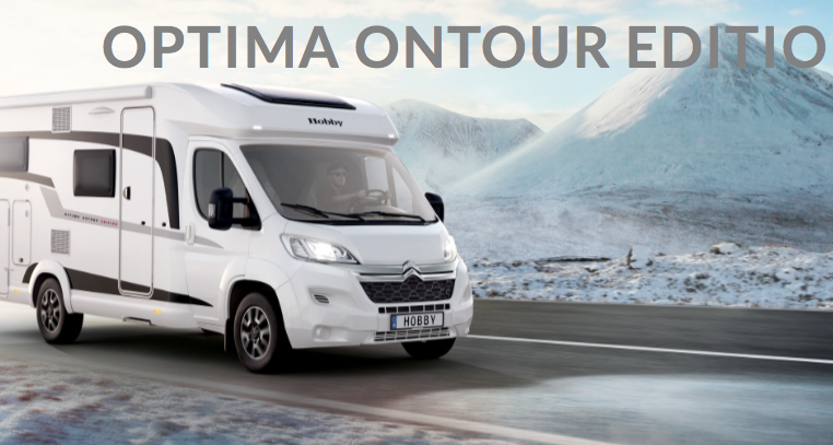 2019 Hobby Camper Optima OnTour Edition