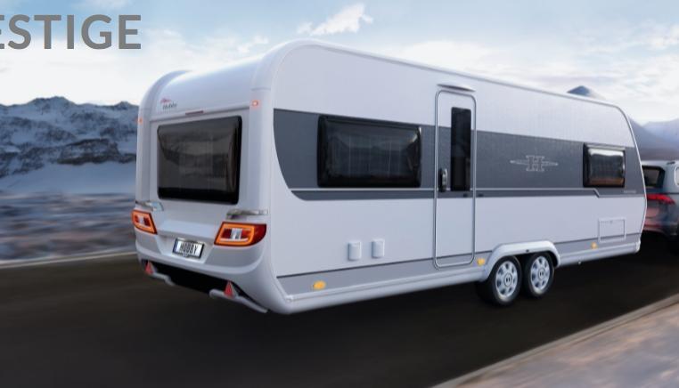 2020 Hobby Prestige Caravan