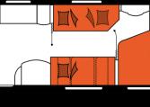 2020 Hobby Prestige 720 UKFe Caravan nachtindeling
