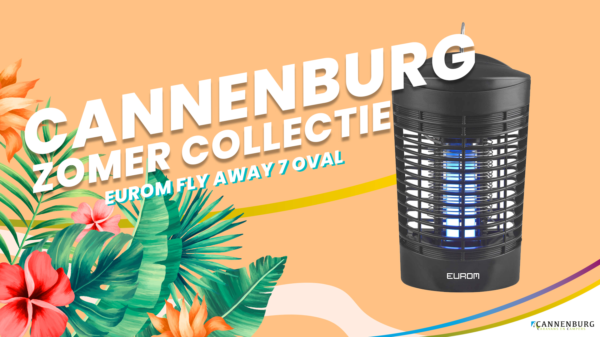 Zomer collectie cannenburg 2020 EUROM FLY AWAY