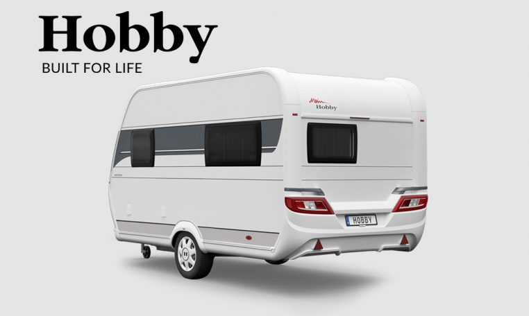 Cannenburg Hobby on tour 390 SF Exterieur Back 2021 2