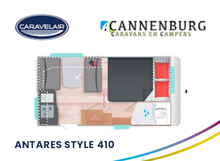 cannenburg plattegrond caravelair antares style 410 2021