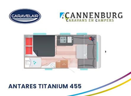 cannenburg caravelair Antares Titanium 455 2021