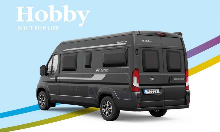 Cannenburg Hobby Vantana De Luxe Back K65 ET 2021 Fenster zwart