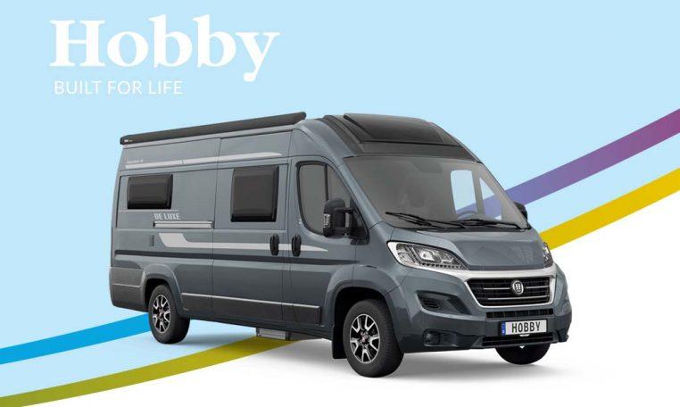 Cannenburg Hobby Vantana De Luxe Front K65 ET 2021 Fenster blauw