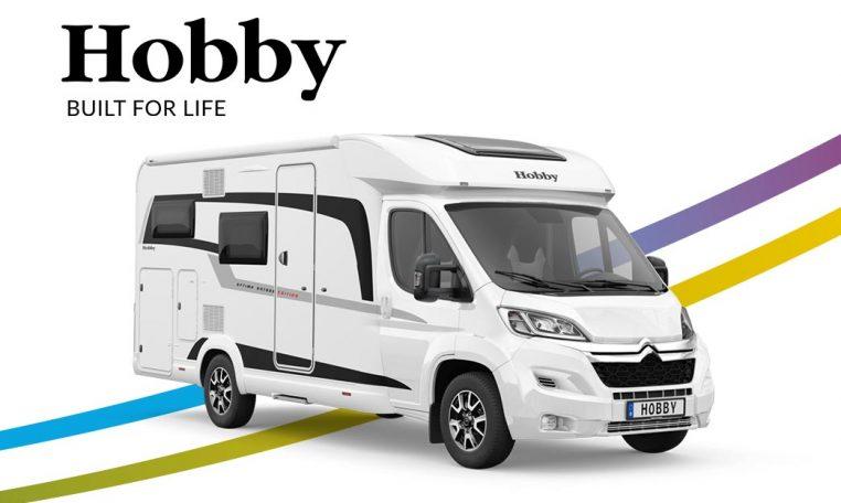 Hobby Optima Ontour edition V65 GF 2021 front