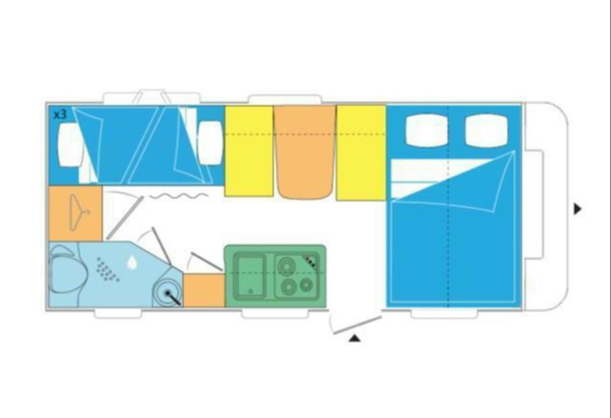 Cannenburg Caravelair 497 Family 2020