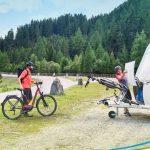 Nieuws fietsendrager op website