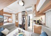 Hobby De Luxe 400 SFe model 2022 Cannenburg interieur 3