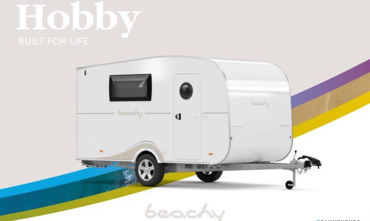 Hobby Beachy model 2021 front 360 Cannenburg Caravans en Campers