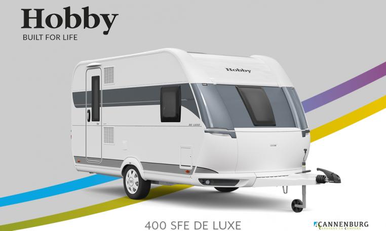 Hobby De Luxe 400 SFe model 2022 Cannenburg Front