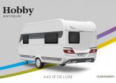 Hobby De Luxe 440 SF model 2022 Cannenburg Back