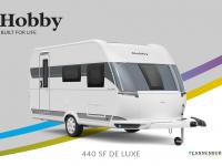 Hobby De Luxe 440 SF model 2022 Cannenburg Front