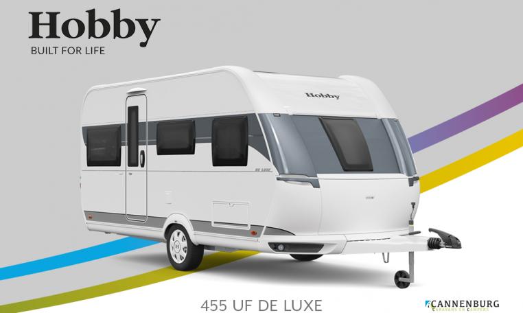 Hobby De Luxe 455 UF model 2022 Cannenburg Front