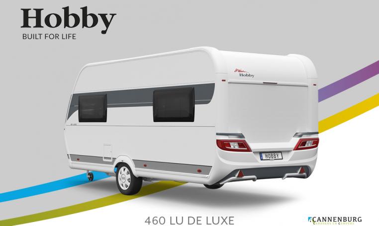 Hobby De Luxe 460 LU model 2022 Cannenburg Back