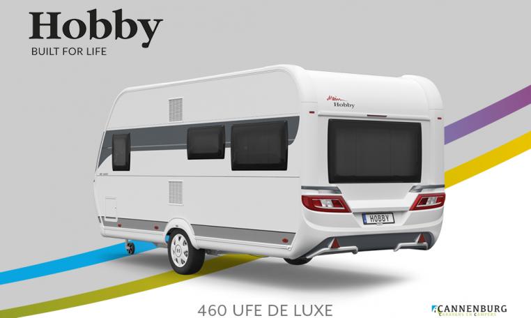 Hobby De Luxe 460 UFe model 2022 Cannenburg Back