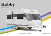 Hobby De Luxe 460 UFe model 2022 Cannenburg Front