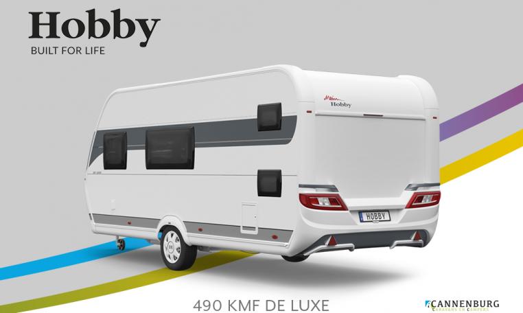 Hobby De Luxe 490 KMF model 2022 Cannenburg Back