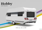 Hobby De Luxe 495 UL model 2022 Cannenburg Back