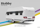 Hobby De Luxe 495 WFB model 2022 Cannenburg Back