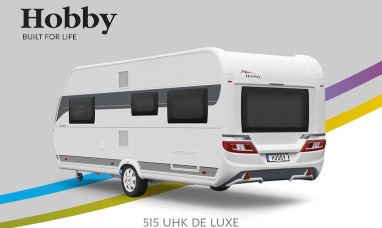 Hobby De Luxe 515 UHK model 2022 Cannenburg Back buitenkant