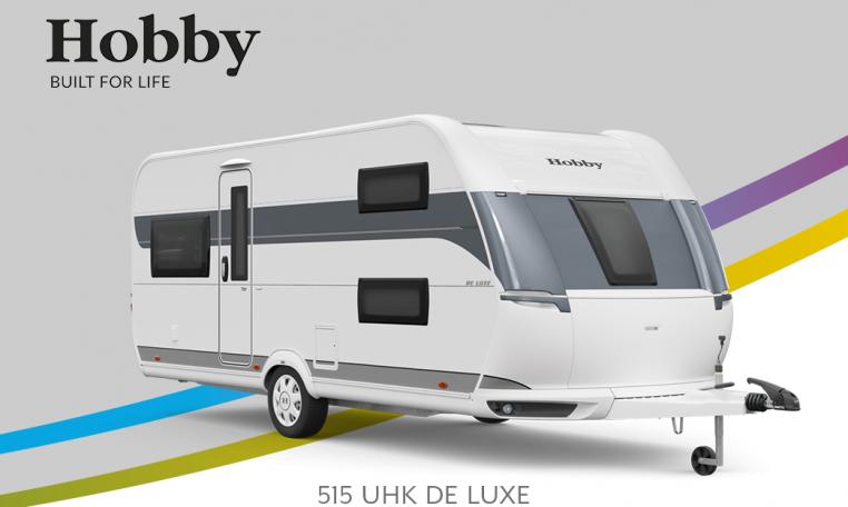Hobby De Luxe 515 UHK model 2022 Cannenburg Front