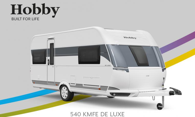 Hobby De Luxe 540 KMFe model 2022 Cannenburg Front Buitenkant