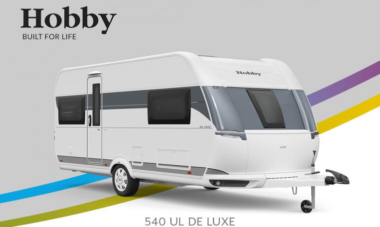 Hobby De Luxe 540 UL model 2022 Cannenburg Front Buitenkant