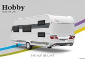 Hobby De Luxe 545 KMF model 2022 Cannenburg Back Buitenkant