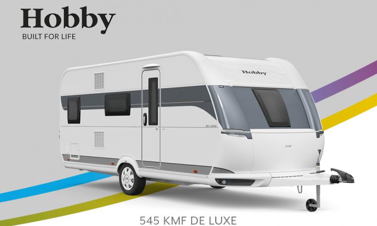 Hobby De Luxe 545 KMF model 2022 Cannenburg Front Buitenkant