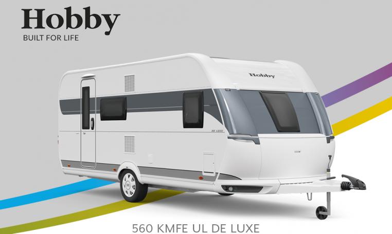Hobby De Luxe 560 KMFe model 2022 Cannenburg Front Buitenkant