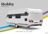 Hobby De Luxe 560 KMFe model 2022 Cannenburg back Buitenkant