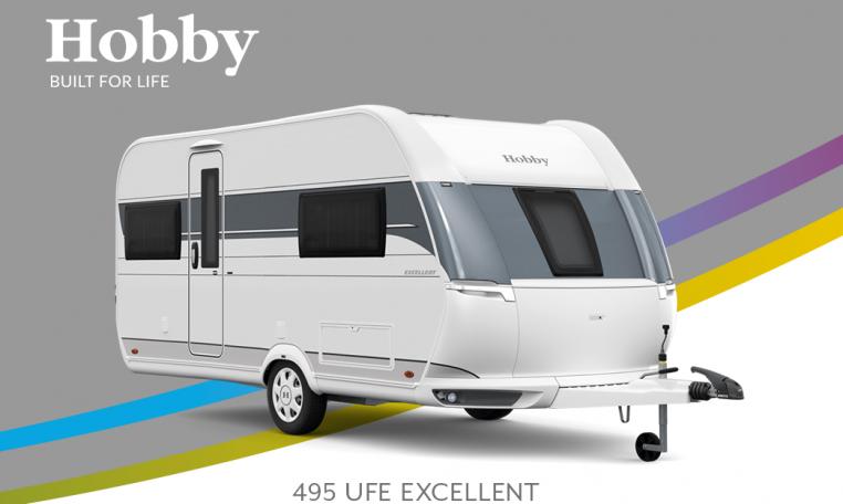 Hobby Excellent 495 UFe model 2022 Cannenburg Front buitenkant