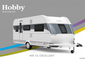 Hobby Excellent 495 UL model 2022 Cannenburg Front buitenkant