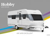 Hobby Excellent 495 WFB model 2022 Cannenburg Front buitenkant