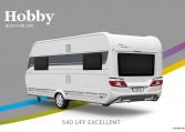 Hobby Excellent 540 UFf model 2022 Cannenburg Back buitenkant