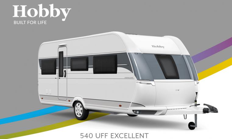 Hobby Excellent 540 UFf model 2022 Cannenburg Front buitenkant