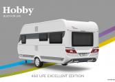 Hobby Excellent Edition 460 UFe model 2022 Cannenburg Back buitenkant