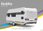 Hobby Excellent Edition 490 KMF model 2022 Cannenburg Back buitenkant