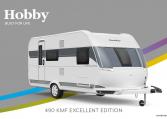Hobby Excellent Edition 490 KMF model 2022 Cannenburg Front buitenkant