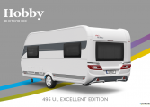 Hobby Excellent Edition 495 UL Excellent Edition model 2022 Cannenburg Back buitenkant