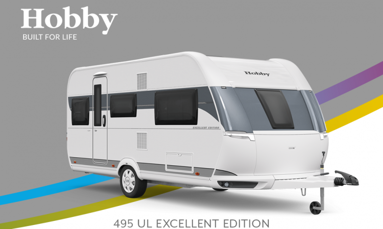 Hobby Excellent Edition 495 UL Excellent Edition model 2022 Cannenburg Front buitenkant
