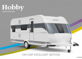 Hobby Excellent Edition 545 KMF Excellent Edition model 2022 Cannenburg Front buitenkant