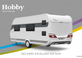 Hobby Excellent Edition 560 KMFe Excellent Edition model 2022 Cannenburg Back buitenkant