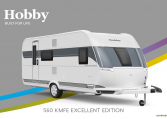 Hobby Excellent Edition 560 KMFe Excellent Edition model 2022 Cannenburg Front buitenkant