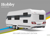 Hobby Excellent Edition 650 KMFe Excellent Edition model 2022 Cannenburg Back buitenkant