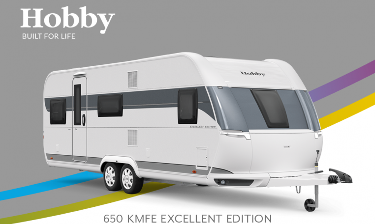 Hobby Excellent Edition 650 KMFe Excellent Edition model 2022 Cannenburg Front buitenkant